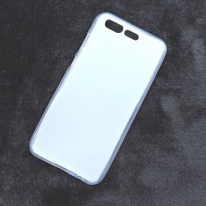 Силиконовый матовый полупрозрачный чехол для ASUS ZenFone 4 Pro  Белый
