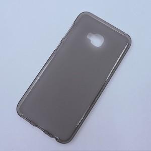 Силиконовый матовый полупрозрачный чехол для ASUS ZenFone 4 Selfie Pro Серый