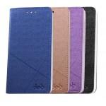 Чехол горизонтальная книжка подставка текстура Линии на пластиковой основе с отсеком для карт для Nokia 8