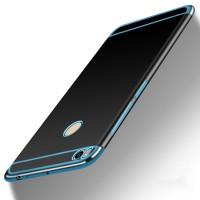 Силиконовый матовый непрозрачный дизайнерский чехол для Xiaomi Mi Max 2  Синий
