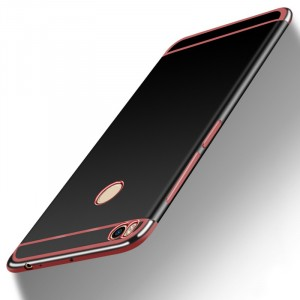 Силиконовый матовый непрозрачный дизайнерский чехол для Xiaomi Mi Max 2  Красный