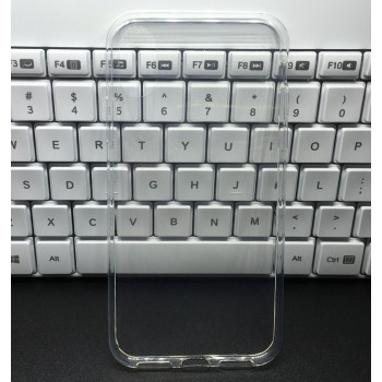 Силиконовый глянцевый транспарентный чехол для Iphone X 10