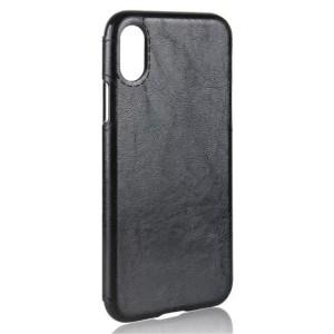 Силиконовый чехол накладка текстурная отделка Кожа для Iphone X 10/XS