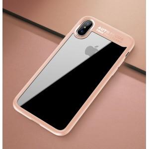 Силиконовый матовый полупрозрачный чехол для Iphone X 10/XS