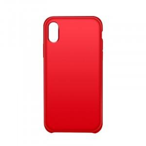 Чехол накладка для Iphone X 10/XS Красный
