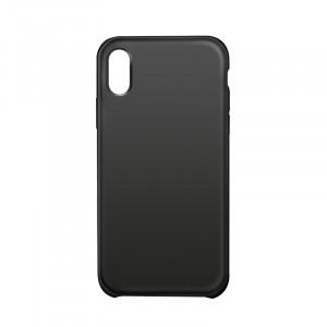 Чехол накладка текстурная отделка Кожа для Iphone X 10/XS