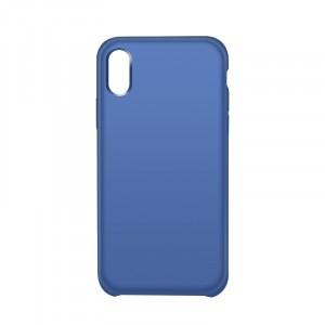 Чехол накладка для Iphone X 10/XS Синий