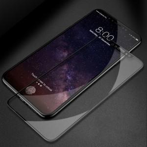 Полноэкранное ультратонкое износоустойчивое сколостойкое олеофобное защитное стекло-пленка для Iphone X 10/XS Черный