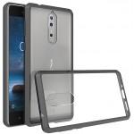 Силиконовый матовый полупрозрачный чехол для Nokia 8