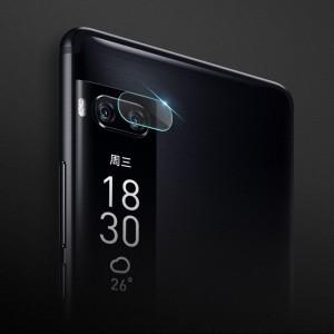 Защитное стекло-пленка на камеру для Meizu Pro 7 Plus