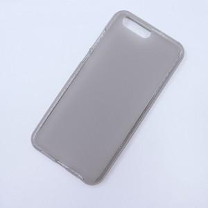 Силиконовый матовый полупрозрачный чехол для ASUS ZenFone 4 ZE554KL Серый