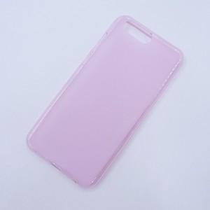 Силиконовый матовый полупрозрачный чехол для ASUS ZenFone 4 ZE554KL Розовый
