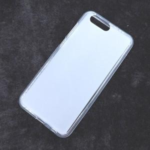 Силиконовый матовый полупрозрачный чехол для ASUS ZenFone 4 ZE554KL Белый