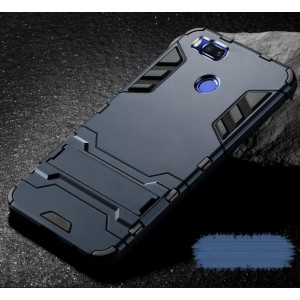Противоударный силиконовый матовый непрозрачный чехол с поликарбонатными вставками экстрим защиты с встроенной ножкой-подставкой для Xiaomi Mi5X/Mi A1