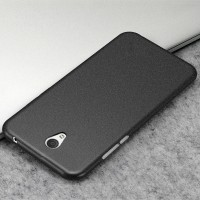 Силиконовый матовый непрозрачный чехол с нескользящим софт-тач покрытием для Lenovo P2