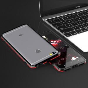 Металлический округлый премиум бампер сборного типа на винтах для Xiaomi RedMi Note 5A Prime/Pro