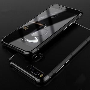 Двухкомпонентный чехол c металлическим премиум бампером на винтах с поликарбонатной накладкой для Xiaomi Mi5X/Mi A1