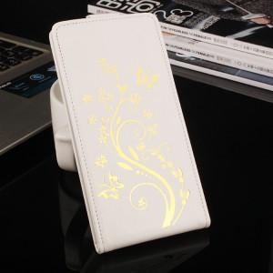 Чехол вертикальная книжка текстура Узоры на клеевой основе на магнитной защелке для Oukitel K6000 Pro