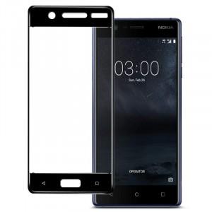 Полноэкранное ультратонкое износоустойчивое сколостойкое олеофобное защитное стекло-пленка для Nokia 3