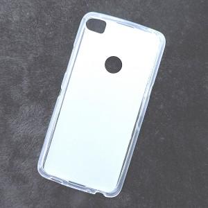 Силиконовый матовый полупрозрачный чехол для Alcatel Idol 5S  Белый