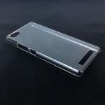 Пластиковый транспарентный чехол для Highscreen Power Ice