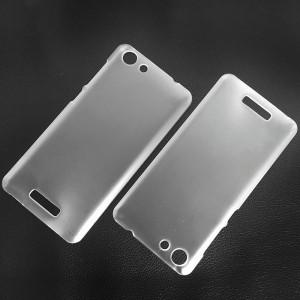 Пластиковый матовый транспарентный чехол для Highscreen Power Rage