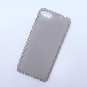 Силиконовый матовый полупрозрачный чехол для ASUS ZenFone 4 Max ZC520KL  Серый