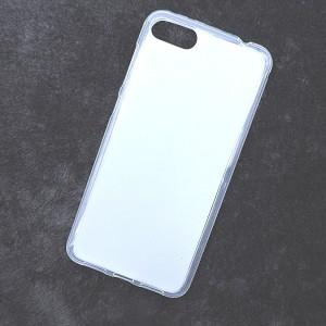 Силиконовый матовый полупрозрачный чехол для ASUS ZenFone 4 Max ZC520KL  Белый