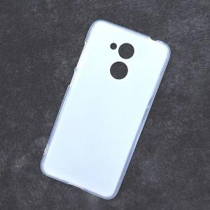 Силиконовый матовый полупрозрачный чехол для Huawei Honor 6C Pro