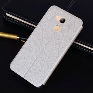 Чехол горизонтальная книжка подставка текстура Линии на силиконовой основе для Huawei Honor 6C Pro