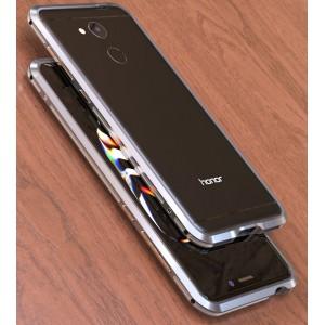Металлический округлый премиум бампер сборного типа на винтах для Huawei Honor 6C Pro