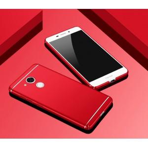Пластиковый непрозрачный матовый чехол текстура Линии с улучшенной защитой элементов корпуса для Huawei Honor 6C Pro