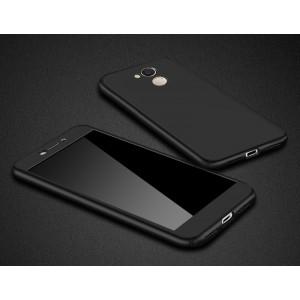 Пластиковый матовый непрозрачный чехол сборного типа для Huawei Honor 6C Pro