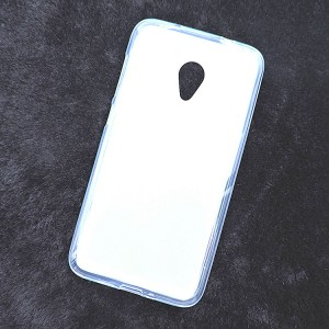 Силиконовый матовый полупрозрачный чехол для Alcatel U5 HD 5047d  Белый