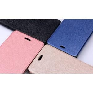 Чехол горизонтальная книжка подставка текстура Золото на силиконовой основе для Xiaomi Mi4S