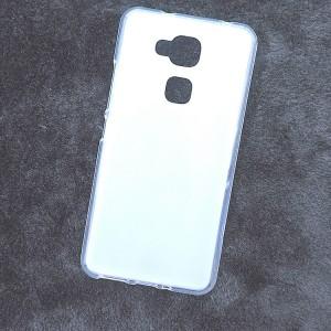 Силиконовый матовый полупрозрачный чехол для BQ Aquaris V Plus Белый