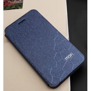 Чехол горизонтальная книжка подставка текстура Соты на силиконовой основе для Huawei Honor 6C Pro