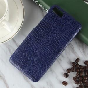Чехол накладка текстурная отделка Кожа для ASUS ZenFone 4 Max ZC520KL Синий