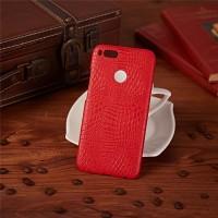 Чехол накладка текстурная отделка Кожа для Xiaomi Mi5X/Mi A1 Красный