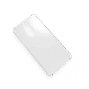 Силиконовый глянцевый полупрозрачный чехол с усиленными углами для Huawei Nova 2i