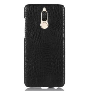 Чехол накладка текстурная отделка Кожа для Huawei Nova 2i  Черный