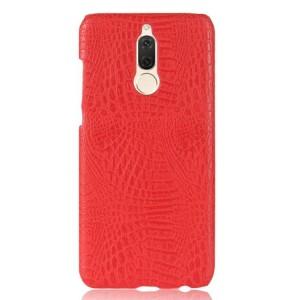 Чехол накладка текстурная отделка Кожа для Huawei Nova 2i  Красный