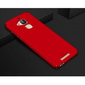 Пластиковый непрозрачный матовый чехол с улучшенной защитой элементов корпуса для Asus ZenFone 3 Max