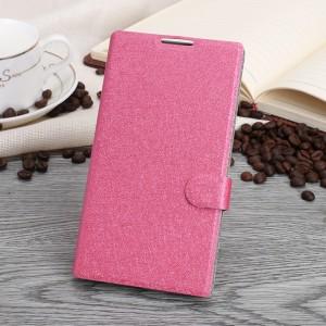 Чехол горизонтальная книжка подставка текстура Золото на пластиковой основе с отсеком для карт на магнитной защелке для Blackberry Priv