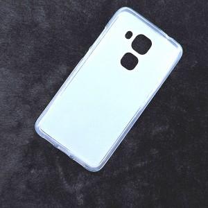 Силиконовый матовый полупрозрачный чехол для Huawei Nova Plus Белый