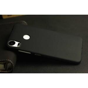 Силиконовый матовый полупрозрачный чехол для HTC Desire 10 Pro