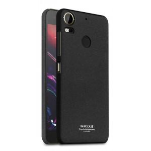 Пластиковый непрозрачный матовый чехол с повышенной шероховатостью для HTC Desire 10 Pro