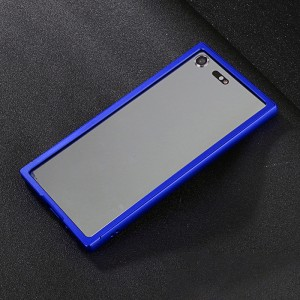Металлический прямоугольный бампер для Sony Xperia XZ Premium