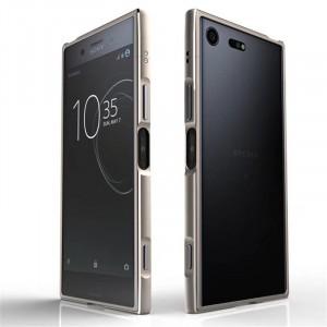 Металлический прямоугольный бампер сборного типа на винтах для Sony Xperia XZ Premium