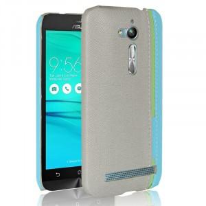 Чехол накладка текстурная отделка Ткань для ASUS ZenFone Go ZB500KL/ZB500KG